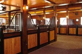 barn and stalls