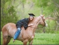 horse and college graduate. REV