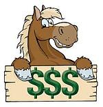 horse and dollar sign