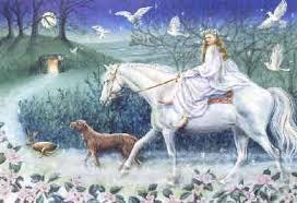 rhiannon celtic horse goddess