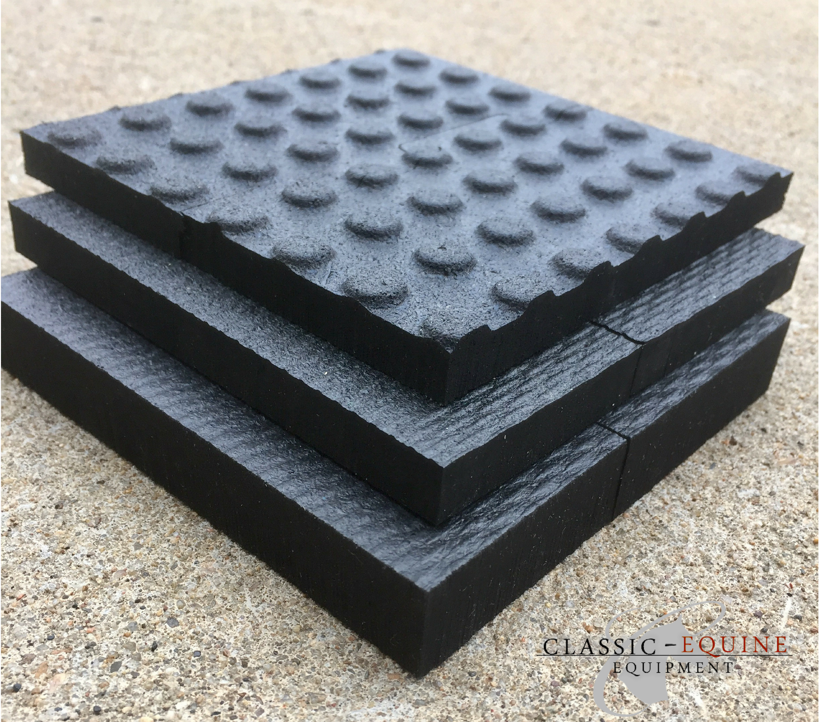 Classic equine stall mats